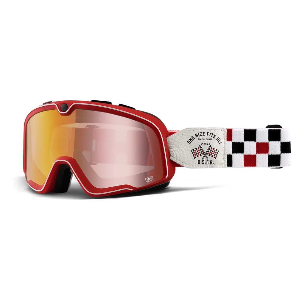 Antiparra BARSTOW OSFA 2 - Red Mirror Lens