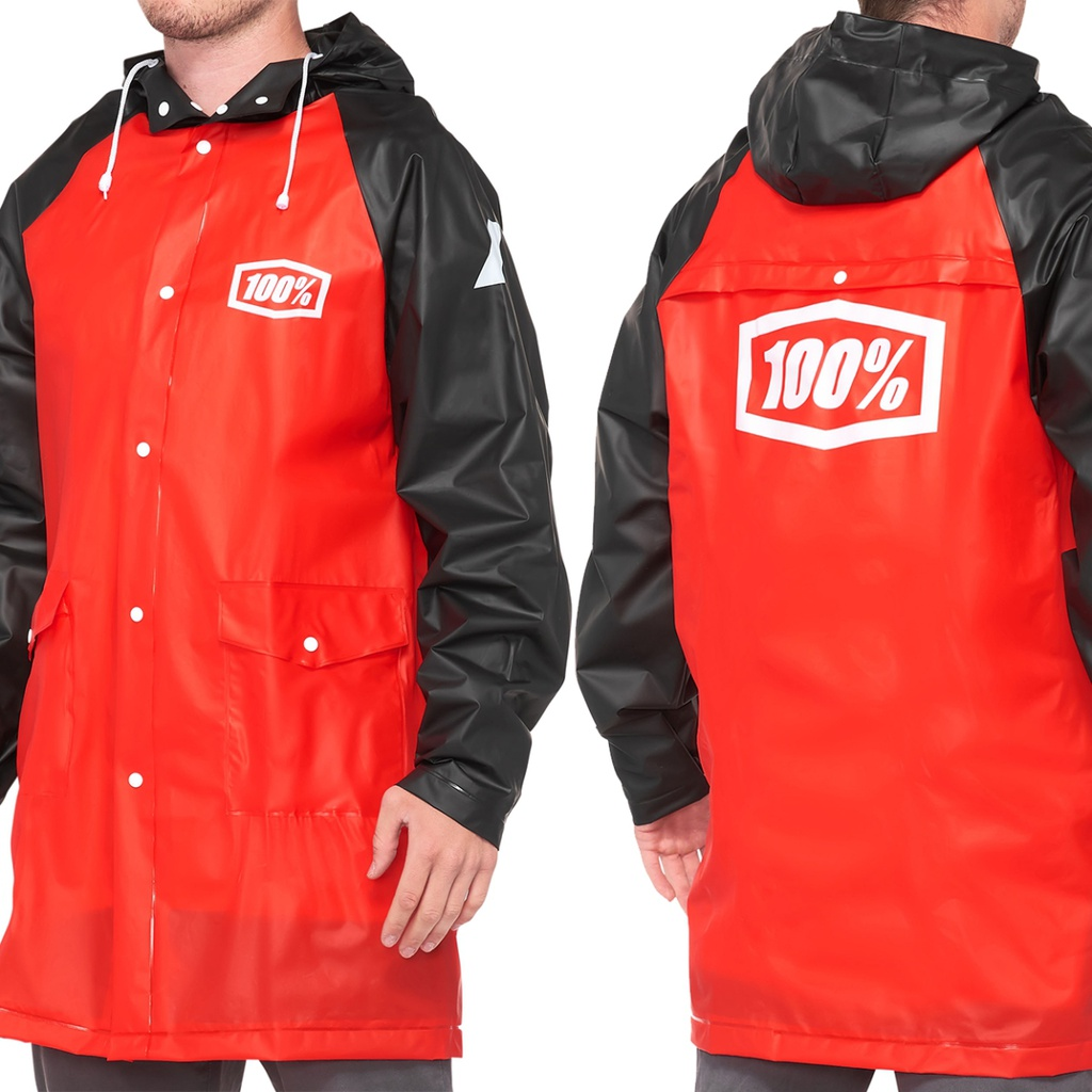 100% Impermeable Mechanic's Raincoat M