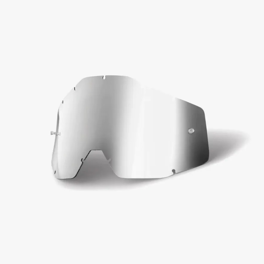Antiparra repuesto lente RACECRAFT/ACCURI/STRATA Blue Mirror/Blue Anti-Fog